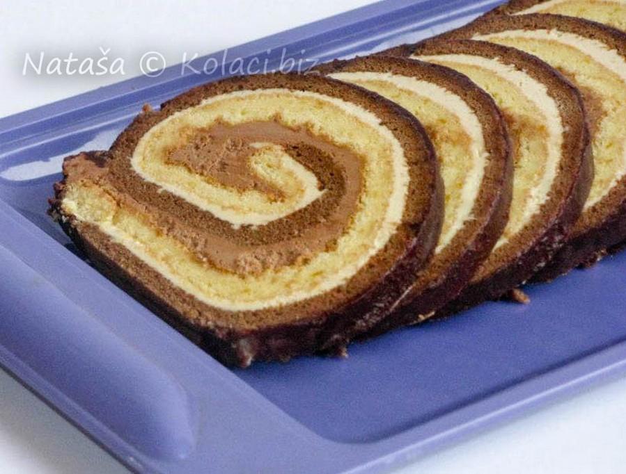 željezničarski kolač rolada