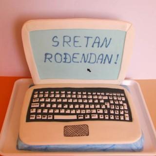 laptop torta