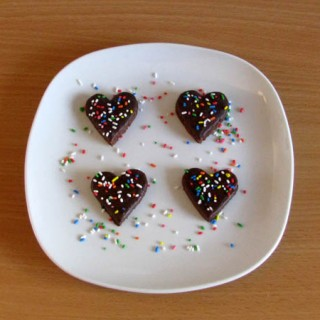 srca od čokolade