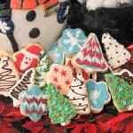 Šaranje Božićnih keksića