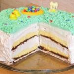 Kapućino torta i uskrsne figurice