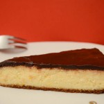 Torta od sira s preljevom od čokolade