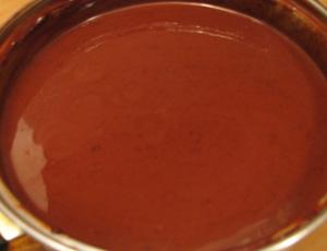 krema sa čokoladom