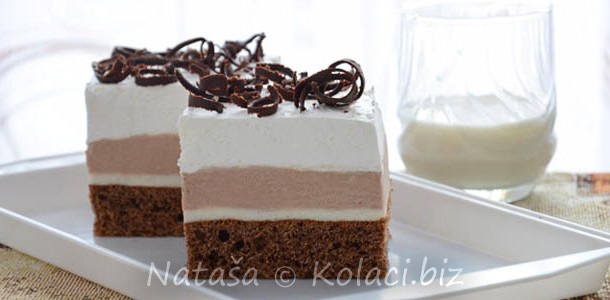 čokoladne ledene kocke