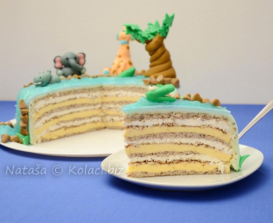 lješnjak torta