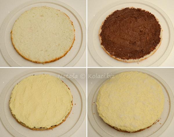 mazanje torte