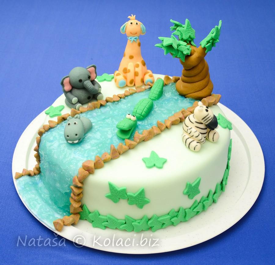 torta životinje od fondana