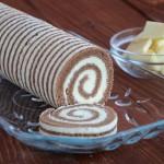 Rolada sa dekoriranim biskvitom: kuVarijacije