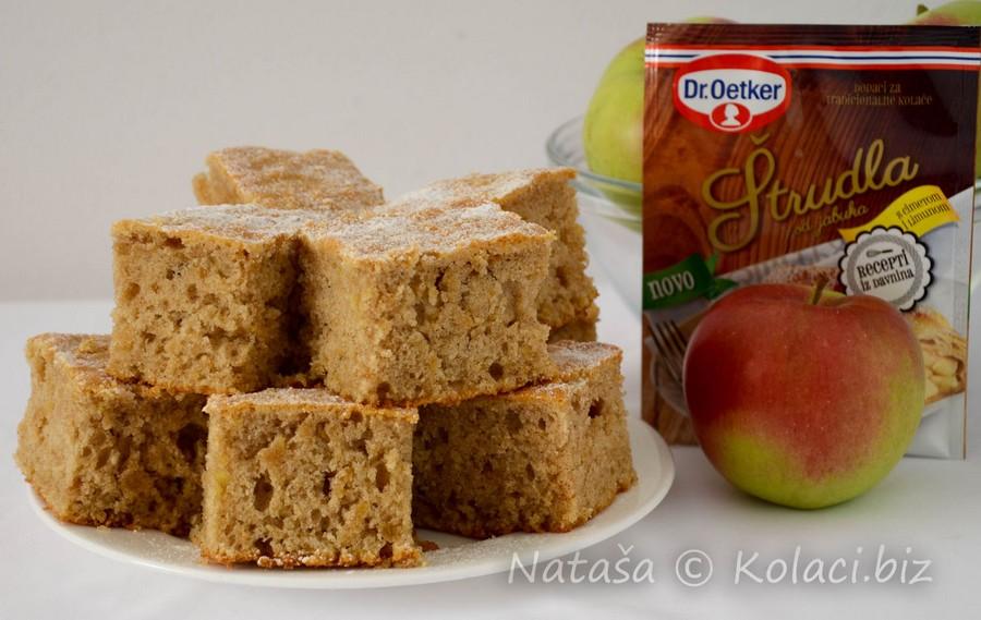 jednostavan kolač od jabuka