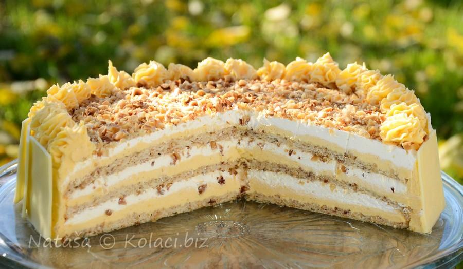 torta bijeli egipat