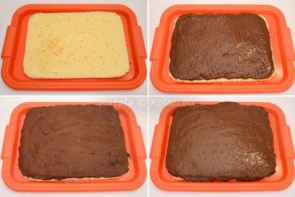 crno bijeli kolač