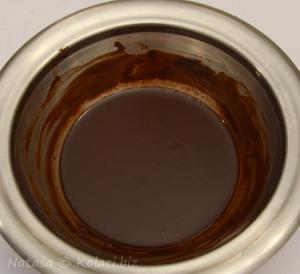 glaze čokolada