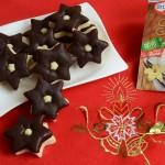 Zvjezdice sa čokoladom i ganache kremom