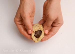 zamatanje kolačića