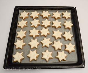 keksići u obliku zvijezde