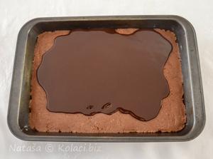 razlivena čokolada