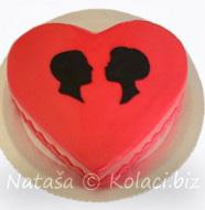 dekoracija torte za dan zaljubljenih