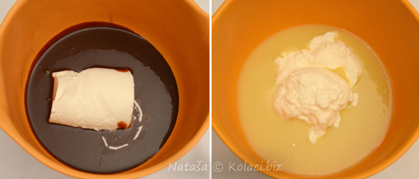 vrhnje u čokoladi