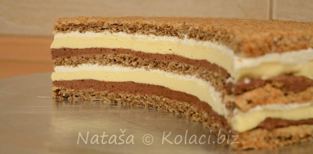 diplomatska torta sa orasima
