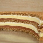 Diplomatska torta sa orasima i čokoladom