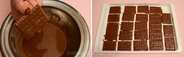 umakanje u čokoladu