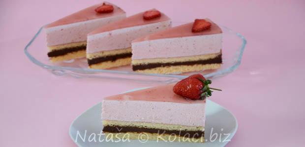 Naslovna » Torte recepti, rođendanske torte » Torta od čokolade i