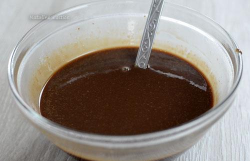 ganache sa mliječnom čokoladom