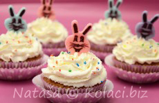 uskrsni cupcakesi sa višnjama