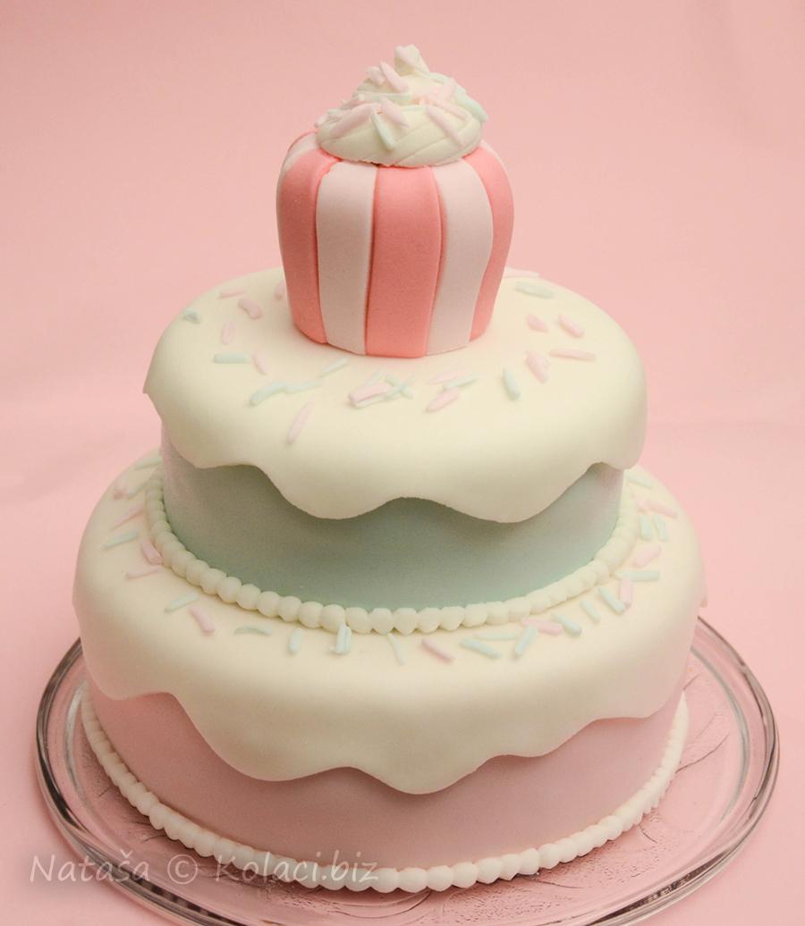 rođendanska torta na kat
