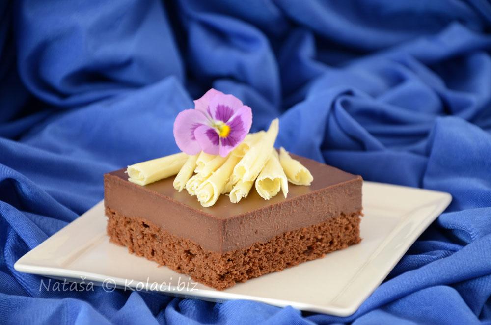 čokoladni ganache kolač