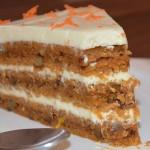 Torta od mrkve sa krem sirom i narančom