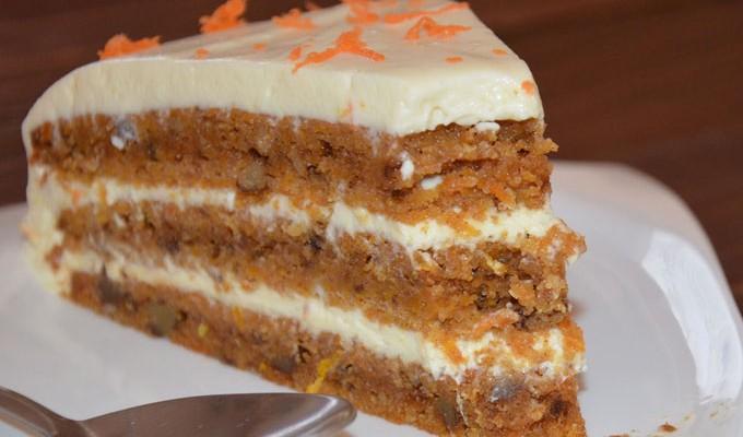 Torta od mrkve sa krem sirom i narančom (video)