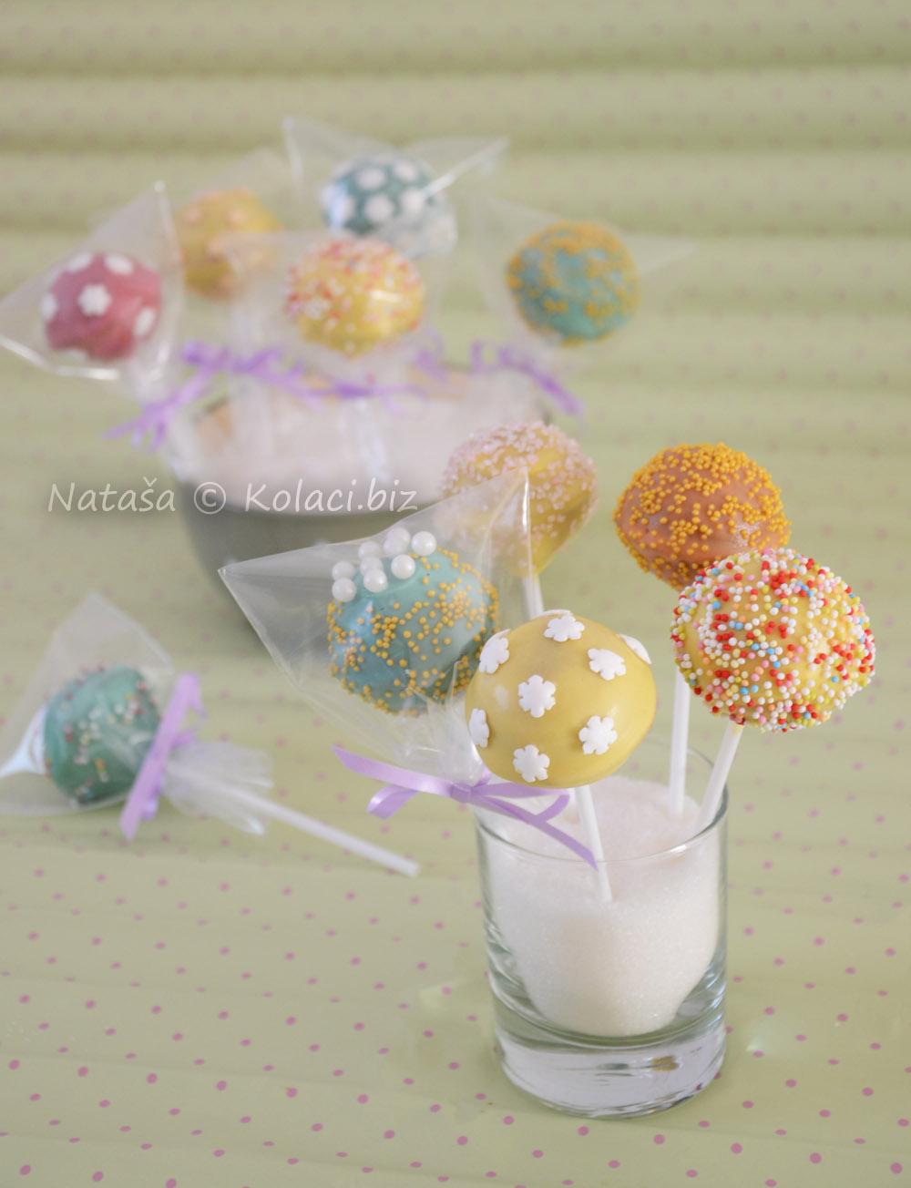 nutella cake popsi