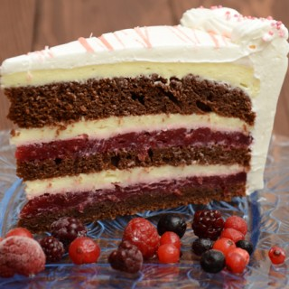 Bloody Berry – voćna torta
