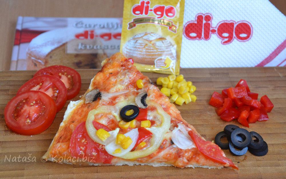 pizza sa povrćem
