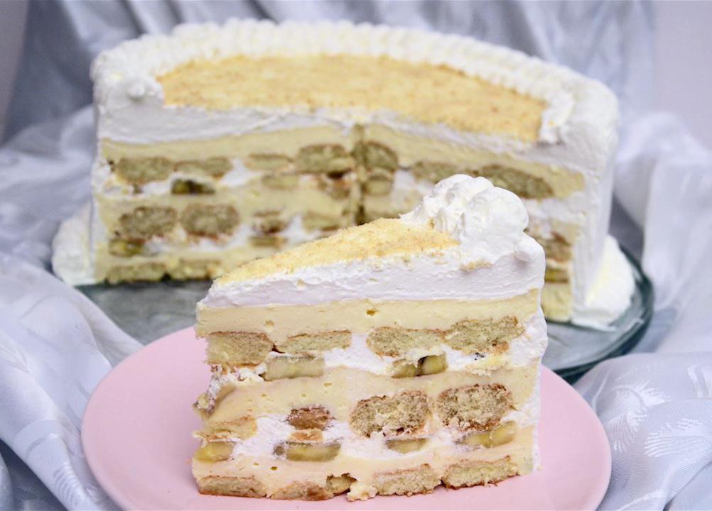 torta sa sirom i bananama
