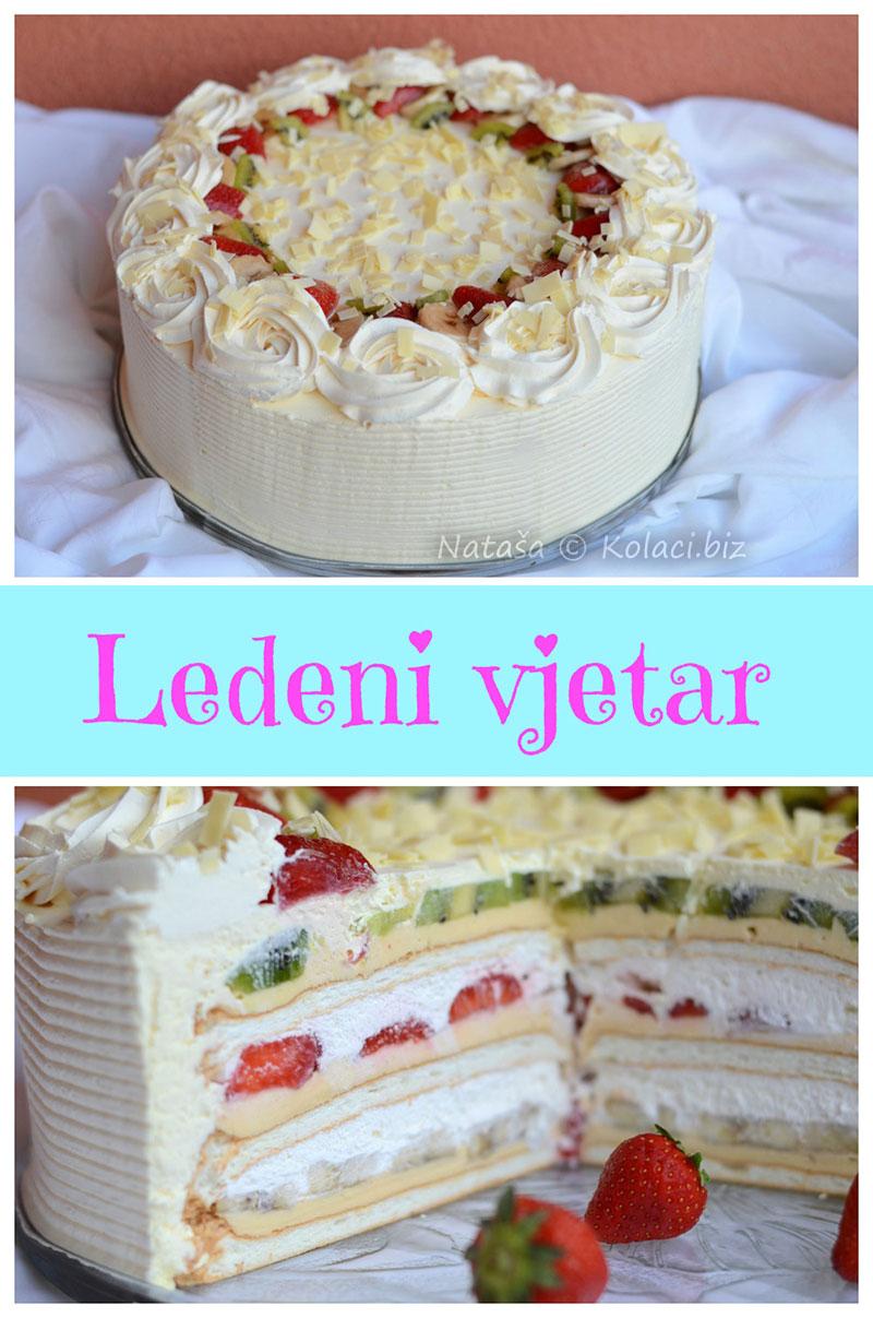 ledeni vjetar torta