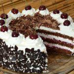 Sočna Schwarzwald torta
