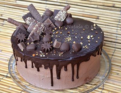 torta sa čokoladicama