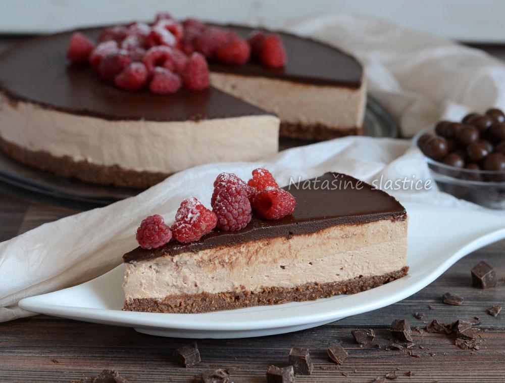 čokoladni cheesecake