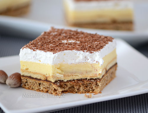 puding kolač sa keksom