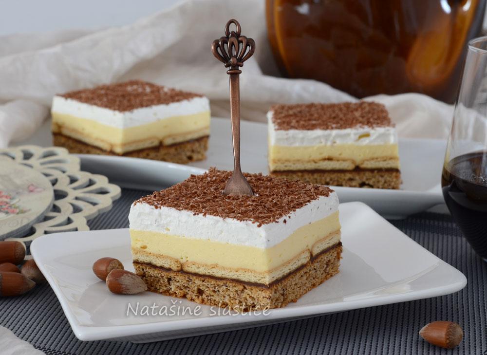 puding kolač sa nutelom