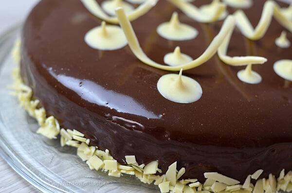 čoko mirror torta