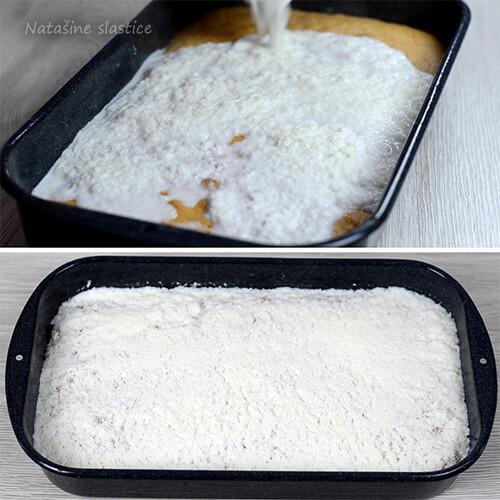 natopljeni kolač