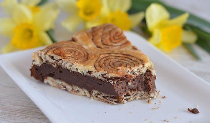 Uvrnuta čokoladna pita (VIDEO)