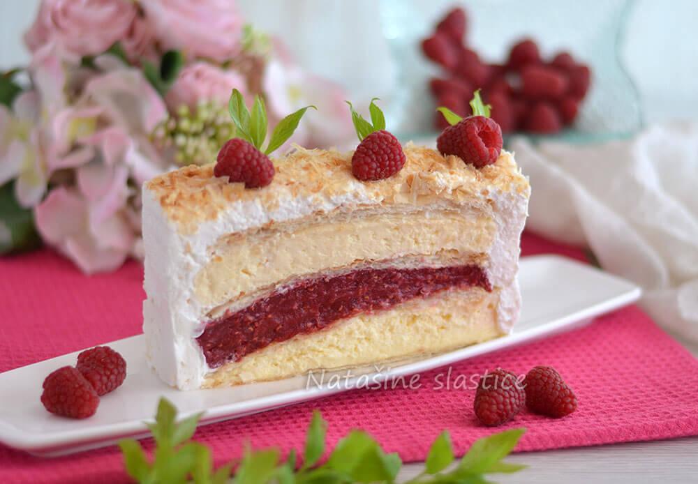 torta od lisnatog tijesta