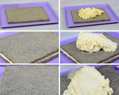 slaganje kolača