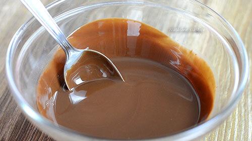 istopljena čokolada