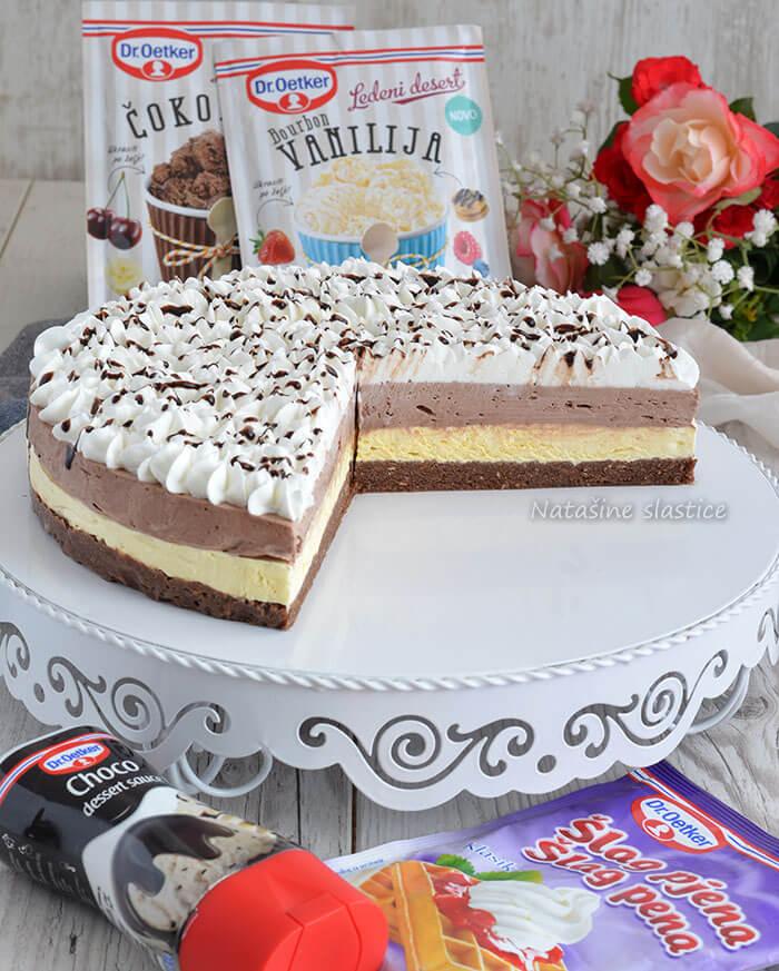 torta sa sladoledom