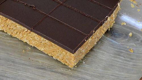 kolač sa zobenim pahuljicama i čokoladom